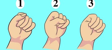 Personality test: The way you make a fist reveals a lot about you