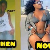 Checkout Destiny Ekito Past And Recent Photos After Her Body Transformation (photos)