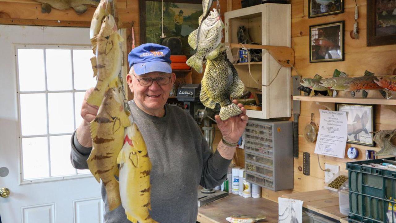 No longer in Cadillac, Dave Kober keeps making fish