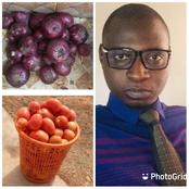 Farmers Are Beginning To Lose, See N70 Tomatoes And Onion Man Bought In Gombe State