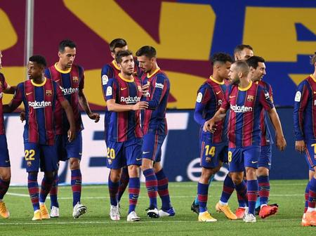 A change in the routine of the Barca before the El Clasico
