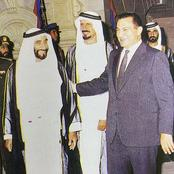 لن تتخيل هدية الشيخ زايد لحسني مبارك تعويضا لتأخره عليه دقيقتين