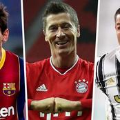 Golden Boat for 2020-2021: Lewandowski, Ronaldo and Europe's top scorers.