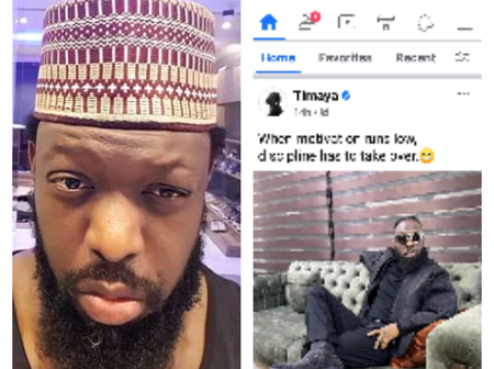 Checkout What Timaya Posted Online That Got Fans Talking