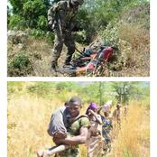See the photos of Nigerian Soldiers in Sambisa Forest