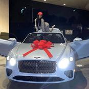 He bought his girlfriend a Bentley, see pictures : opinion