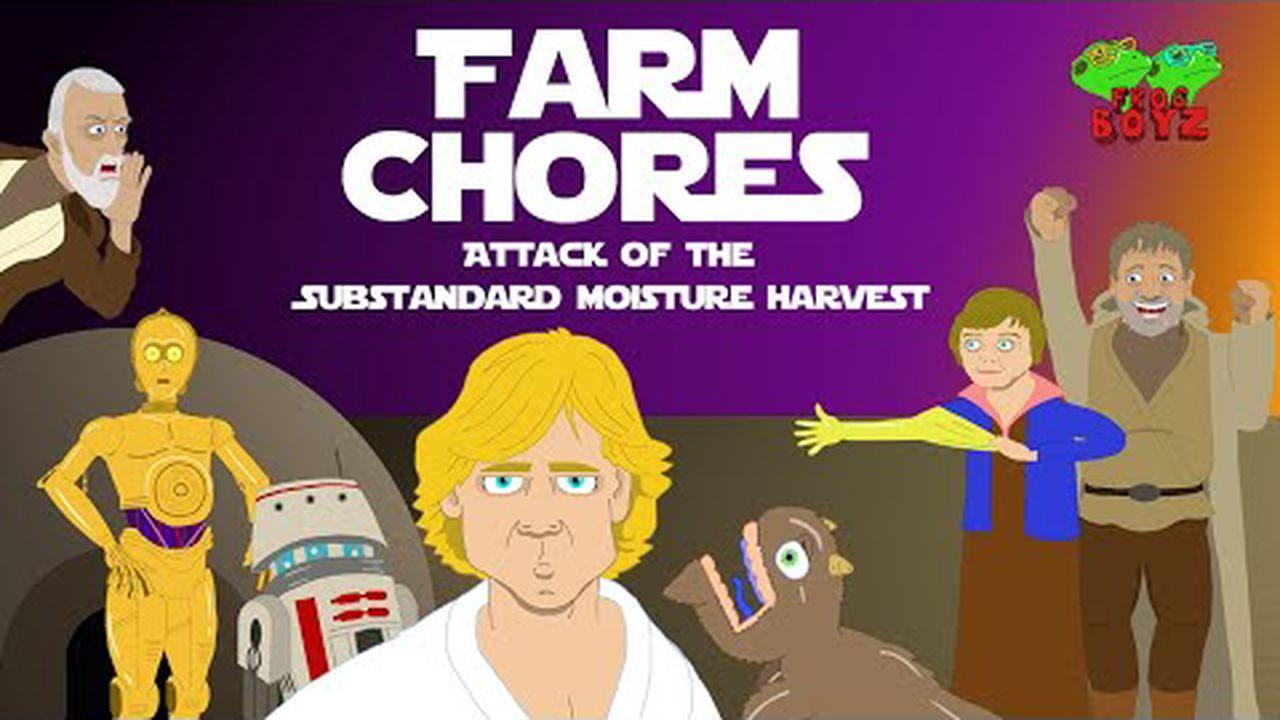 A 'Star Wars' journey is stymied in Frog Boyz' 'Farm Chores: Attack of the Substandard Moisture Harvest' (VIDEO)