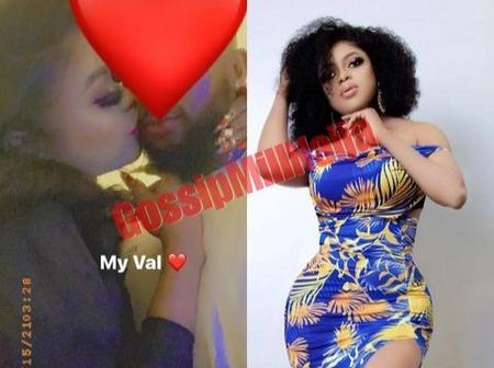 Bobrisky shares loved up photos of him and his boyfriend on Valentine's day