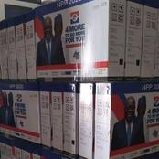 Ghanaians React As NPP Branded Flat Screen Television Sets Causes Stir Online