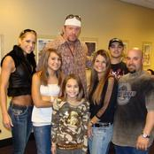 Life After Retirement: See Photos Of The Undertaker With His Wife And Kids (Photos)