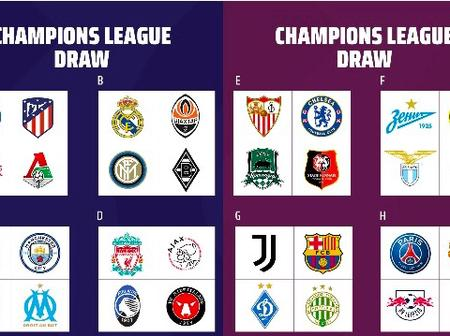 Champions League 2020/2021: Check out Tuesday and Wednesday fixtures, let's have your predictions