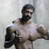 Cet homme s'injecte de l'huile pour ressembler à Arnold Schwarzenegger