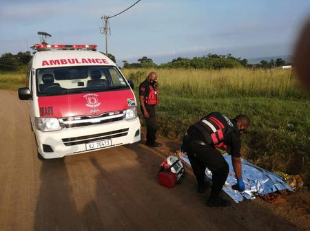 In Sh0ck: Unidentified Man Stabbed Mutiple Times And Dumped At A Hilltop In KZN.