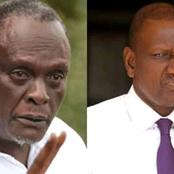 David Murathe Alleges That DP Ruto Will Be Evicted From The Hustler Mansion In Karen