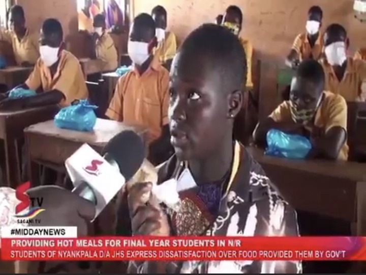 """d204a69f0e9fec945276245109e714c2?quality=uhq&resize=720 - """"Half a loaf is better than none"""" Ghanaians descend on the JHS girl who complained about the one Banku"""