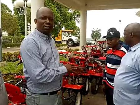 Cross River Ministry Of Agriculture Takes Delivery Of Over 30 Mini Tractors & Other Farm Equipments
