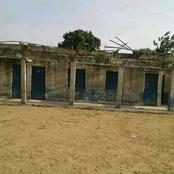 A School In A State In Nigeria Which Looks Abandoned But Pupils Still Attend Classes