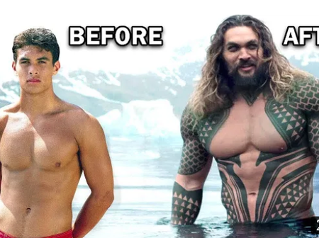 Check Out Before & After Pictures Of Some Celebrities Who Transformed Amazingly (Photos).