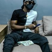 Kuami Eugene is rich; Dazzles fans with some huge dollar bills as he sets the internet on fire