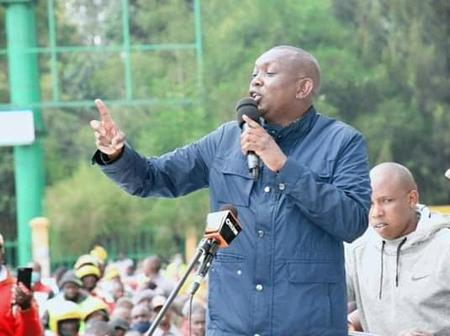 Kapseret Mp Oscar Sudi Claims His life is in Danger