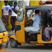 See how a Keke rider rescued children kidnapped by a couple