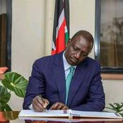DP William Ruto's 4am Message on Monday Morning That Caught his Fans Offguard