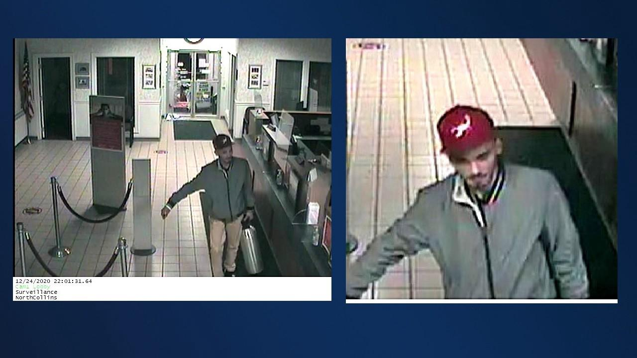 Law enforcement attempt to identify suspect in Christmas Eve burglaries