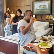 Photos Of How Mike Sonko Is Living Like A King In The VIP Ward