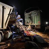 Autoroute du nord : la collision entre deux camions provoque des pertes en vies humaines
