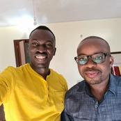 Popular Journalist, Trevor Ombijah Visits Raila's Ally in Hospital as he Wishes Him Quick Recovery