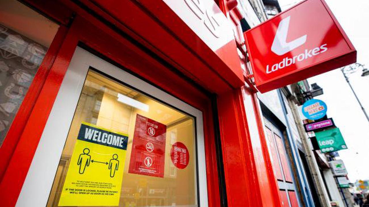 Shares in Ladbrokes owner soar following reports of multi-billion dollar takeover