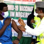 Dr Ngong Cyprian Makes History As First Person To Take COVID-19 Vaccine In Nigeria