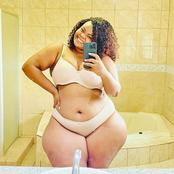See Adorable Photos Of This Plus-sized Curvy Motswana Model