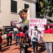 Big Boost To Bobi Wine After Ugandans In South Africa Protested Against Museveni's Regime.