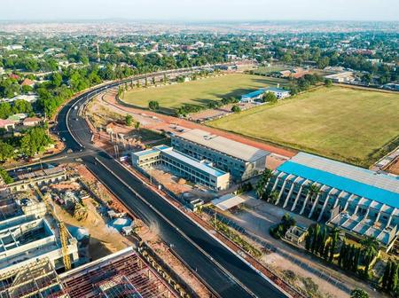 El Rufai At It Again:See Progress of Work on the Dualization of Race Course Road, Kaduna.