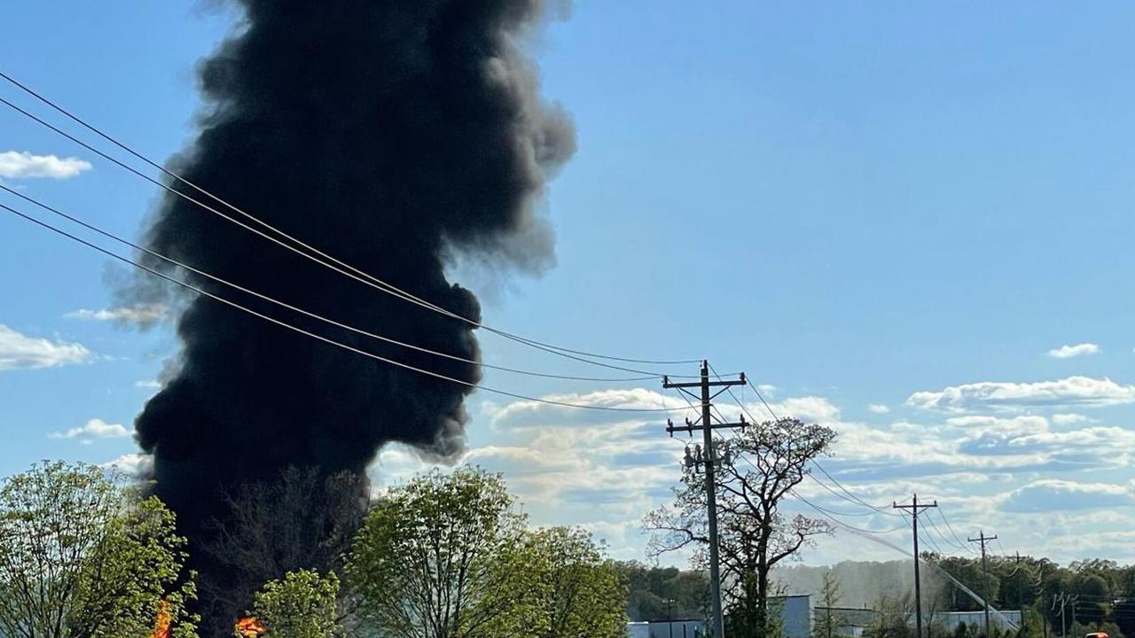 Scary scenes from propane plant fire near Springfield, Missouri