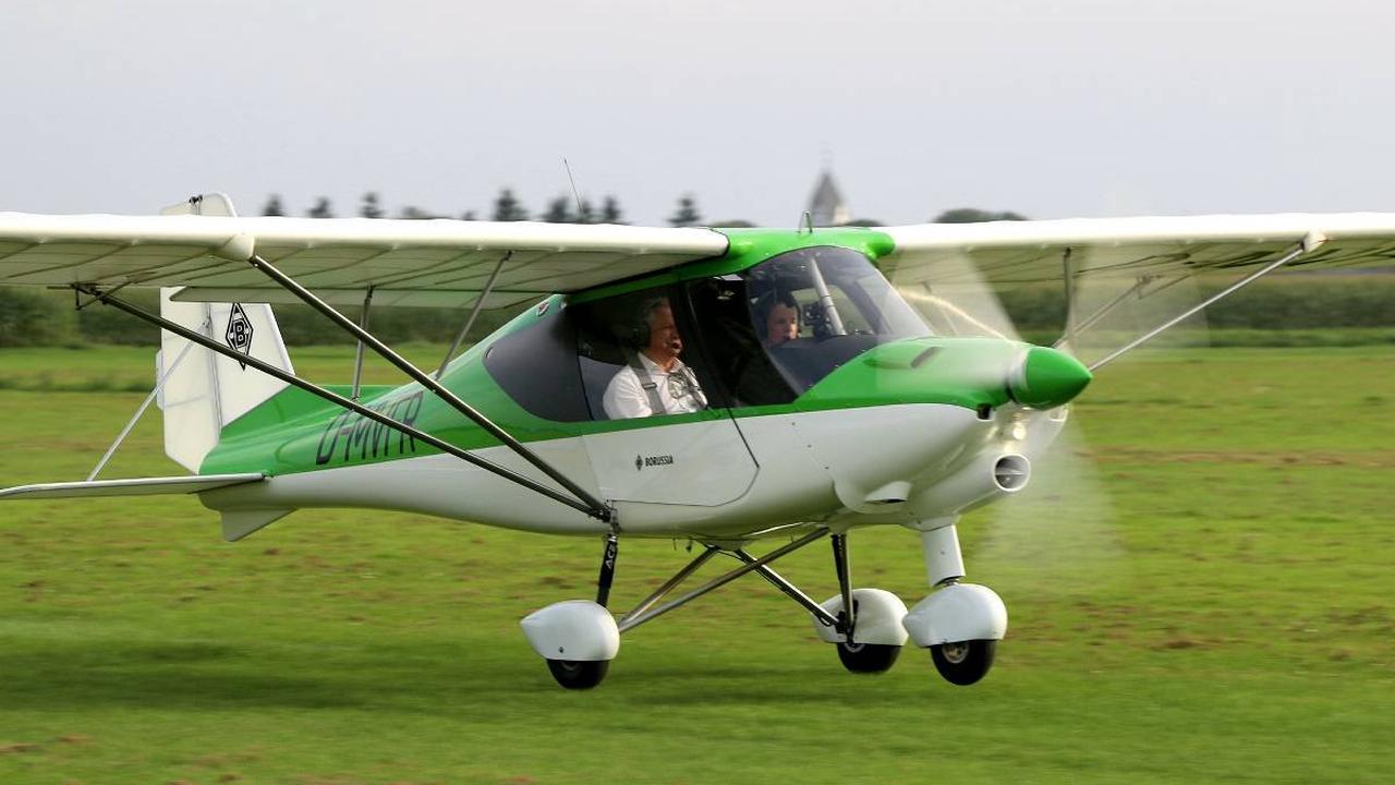 Piloten sammeln Spenden