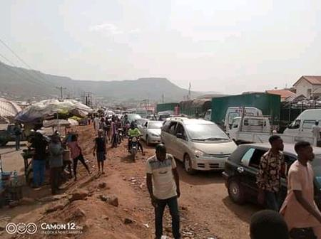 Gridlock hits Lokoja/Abuja Road