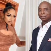 Fans react as Nengi snapped picture with Ned Nwoko