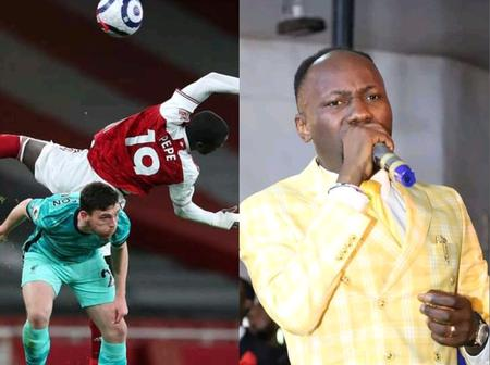 After Arsenal Lost 3-0 To Liverpool, See What Apostle Suleman Said