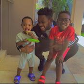 Fans gush over Thulani Hlatshwayo's picture with his sons.
