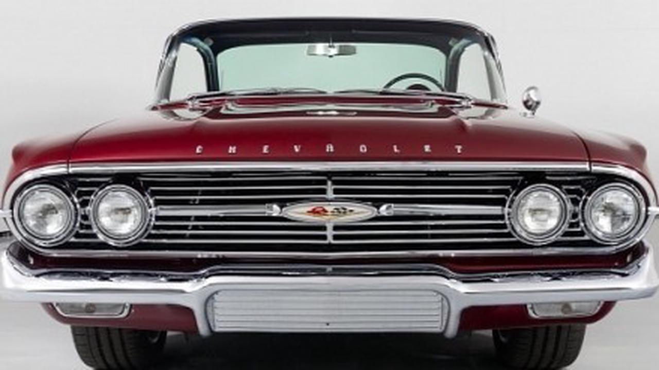 One of a Kind Chevrolet Impala Cost Over $400K to Build, On Sale for Much Less
