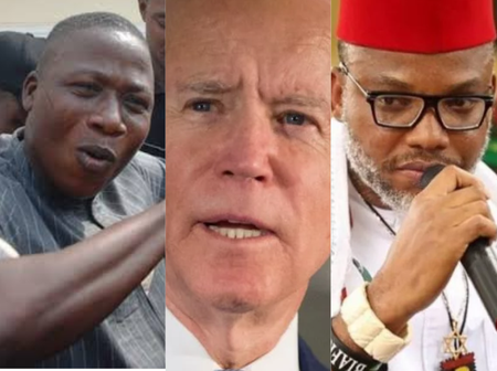 Today's Headlines: Reps Meet Army Over Nnamdi Kanu, Igboho, Trump Attacks Biden Over Bad Decision