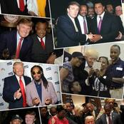 Opinion: 20 Photos Of Donald Trump Chilling With Black people Proves He Was Never A Racist