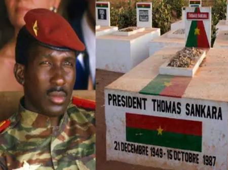Meet Thomas Sankara, He Built 350 Schools And Roads Within 4yrs But Was Killed by His People