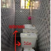 See photos of the toilet of a house in Lagos that is causing reactions