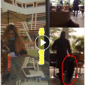 Video: Man Who Embarrassed And Collect His Girlfriend's Bone Straight Hair Begs For Forgiveness