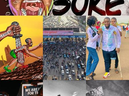 #EndSars: See Beautiful Artworks And Pictures To Mark 5 Month of #LekkiMassacre