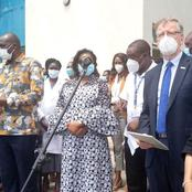 Health Ministry Director-General Dr. Amoth Becomes Kenya's First Covid-19 Vaccine Recipient