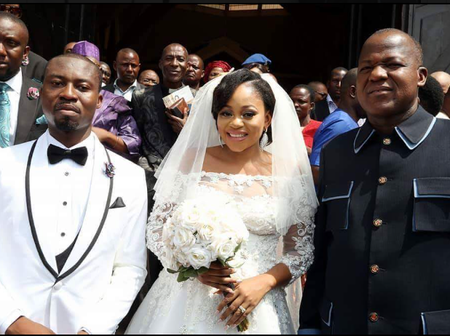 Meet Daughter Of An Ex-Senator From Imo State And Her Husband Who Is The Son Of Joshua Dariye